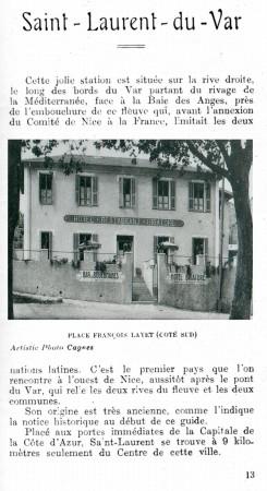 PAGE 13 DU GUIDE DE 1931