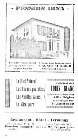 PAGE 18 DU GUIDE DE 1931