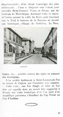 PAGE 21 DU GUIDE DE 1931