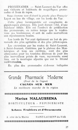 PAGE 27 DU GUIDE DE 1931