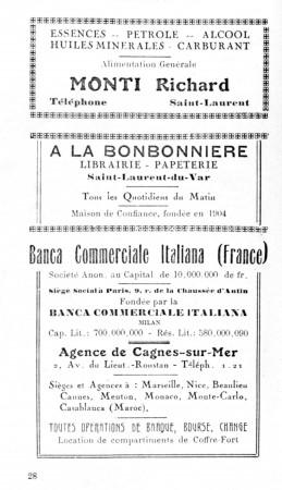 PAGE 28 DU GUIDE DE 1931