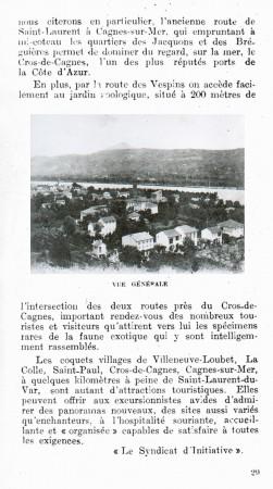 PAGE 29 DU GUIDE DE 1931