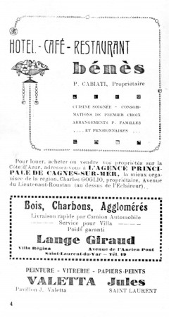 PAGE 4 DU GUIDE DE 1931