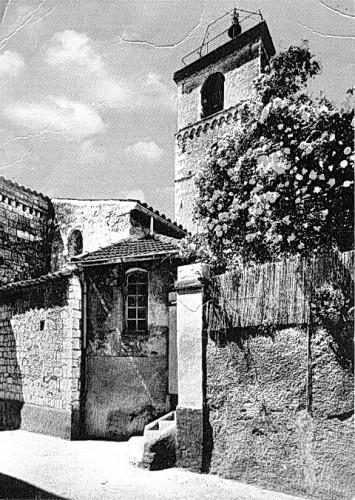LE CLOCHER DE L'EGLISE VERS 1938.jpg