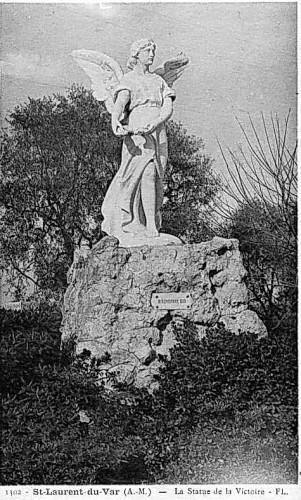 CARTES POSTALES ANCIENNES DE SLV LE MONUMENT A LA VICTOIRE DE 1914 1918 DÉTRUIT EN 1942.jpg