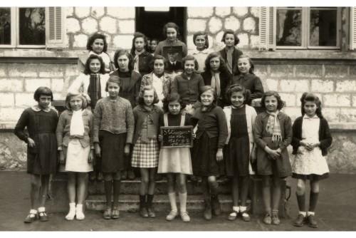 Ecole de la Gare 1941-42 cours élémentaire.jpg